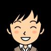 笑顔の男性の小さい画像