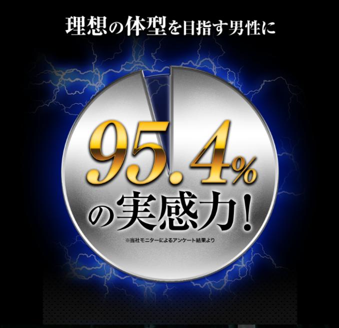 実感力95.4%